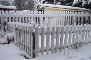 """our """"garden"""" gate"""
