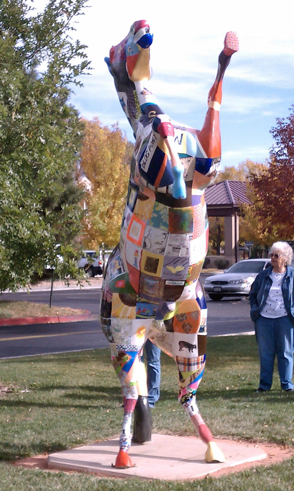 Blog Pony, 2011, Fort Collins Senior Center