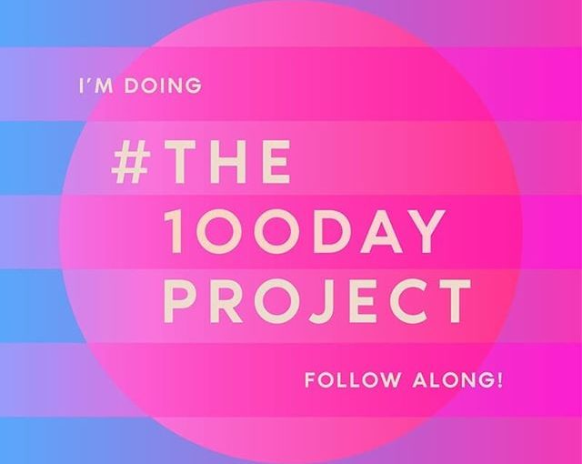 I'm doing #the100dayproject even if I'm starting a couple of days late. #traypup1TinyLittleDrawing  more later today!